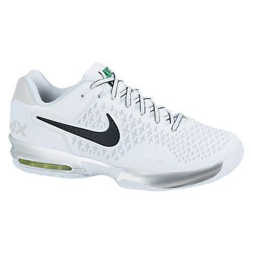 best website aba7c 5a5fe ... greece nike air max cage white blk green mens tennis shoes shop now  dcd0d fe8a4
