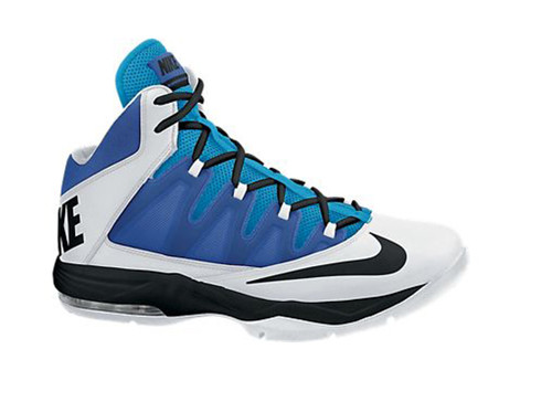 online retailer dabbe 7589c ... best nike mens air max stutter step basketball shoes white blue shop  now shoolu 1b161 0a152