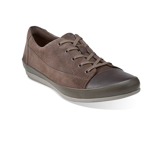 Clarks Lorry Grace Clarks- Taupe sneakers