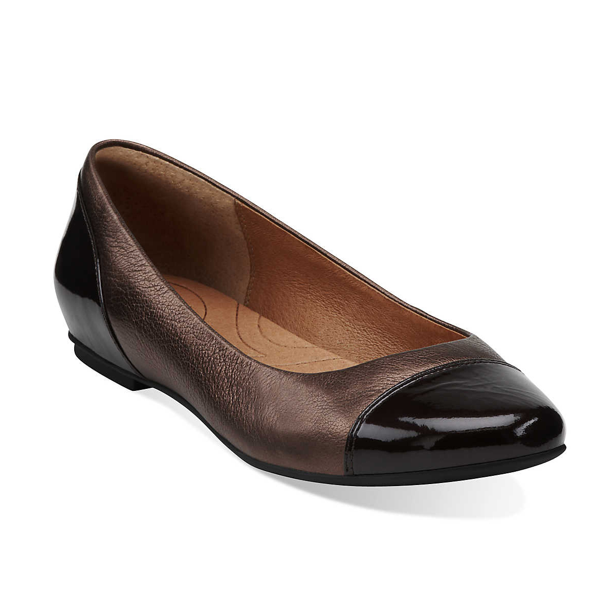 Indigo By Clarks Women's Valley Moon Flats Bronze - Shop now @ Shoolu.com