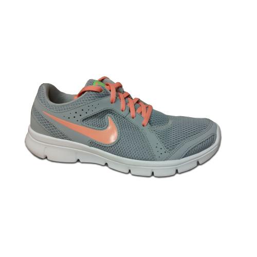 Nike Flex Experience Run Grey/Pink Ladies Running Shoes Wolf Grey