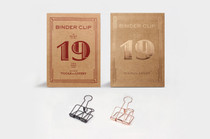 TOOLS to LIVEBY 19mm Binder Clips in Rose Gold