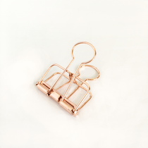 The Rose Gold 32mm clips from Tools to Liveby
