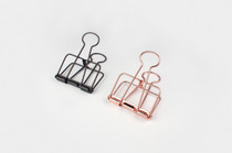 These Binder Clips from Tools to Liveby make for an excellent accompaniment to any thoughtful gift.