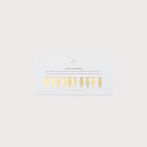 Appointed Brass Page Markers, Set of 10