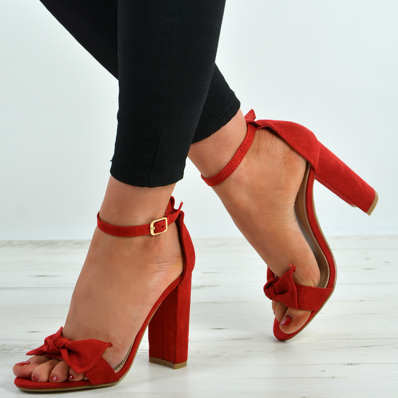 Red Shoes With Bow Uk