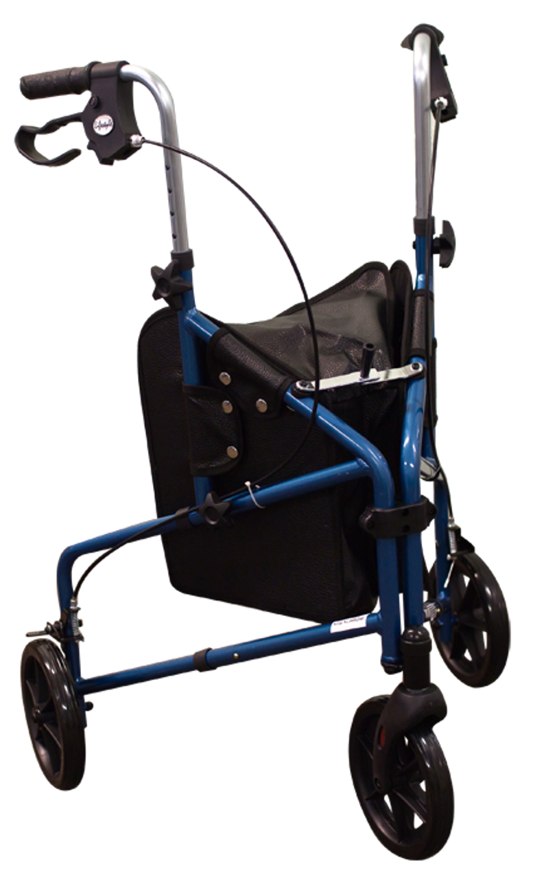 3 Wheeled Walker with Tote