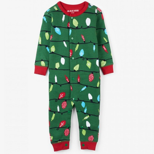 northern lights baby christmas onesie front - Christmas Vacation Onesie