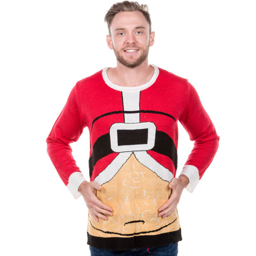 fat santa ugly christmas sweater - Dirty Ugly Christmas Sweater
