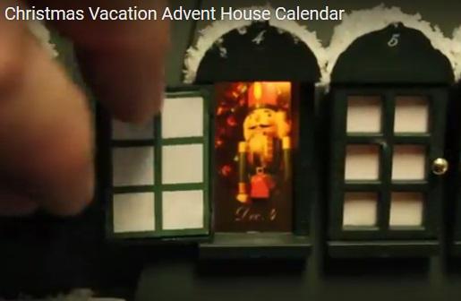Christmas Vacation Advent House Calendar Canada