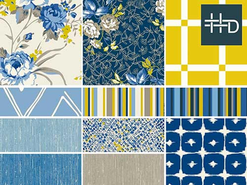 True Blue Trend Board | Color Story