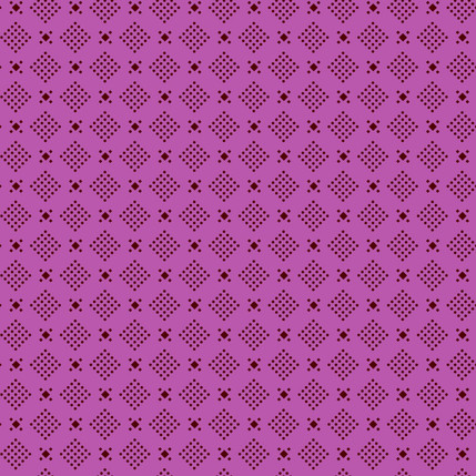 Dice Fabric Design (Berry colorway)
