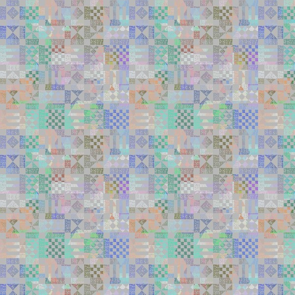 Imprint - Geometric Fabric By The Yard