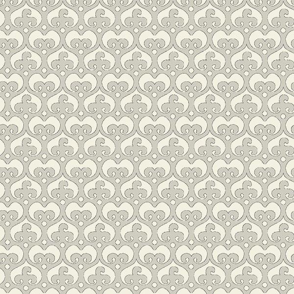 Mod Damask Mini - Geometric Fabric By The Yard