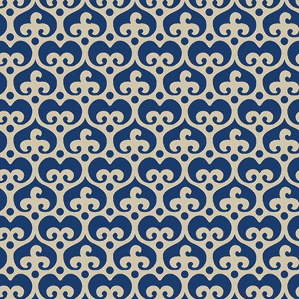 Mod Damask - Damask Fabric By The Yard