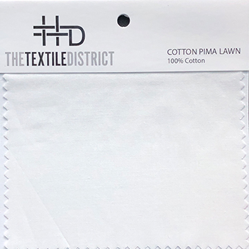 Cotton Pima Lawn Fabric