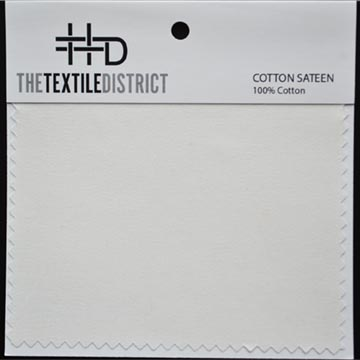 Cotton Sateen Ground Fabric for Custom Fabric Printing