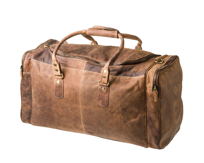 Handmade in Australia | Leather Travel Bag