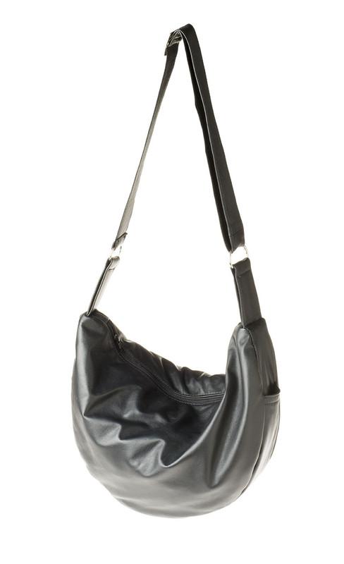 Handmade in Australia   Leather Banana Shoulder Bag