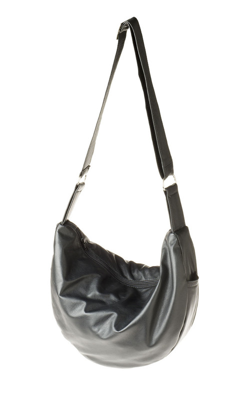 Handmade in Australia | Leather Banana Shoulder Bag