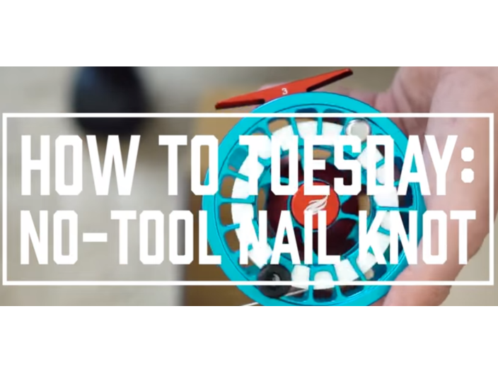 How To Tuesday: No-Tool Nail Knot