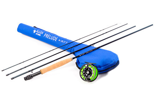Prelude rod ats reel ready to fish combo allen fly fishing for Sixgill fishing reels