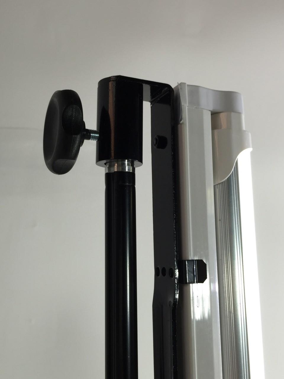 "Stellar 2 Linear Light Panel + 1 Mini Diva Ring Light  12""  + 3 Stands  Kit"