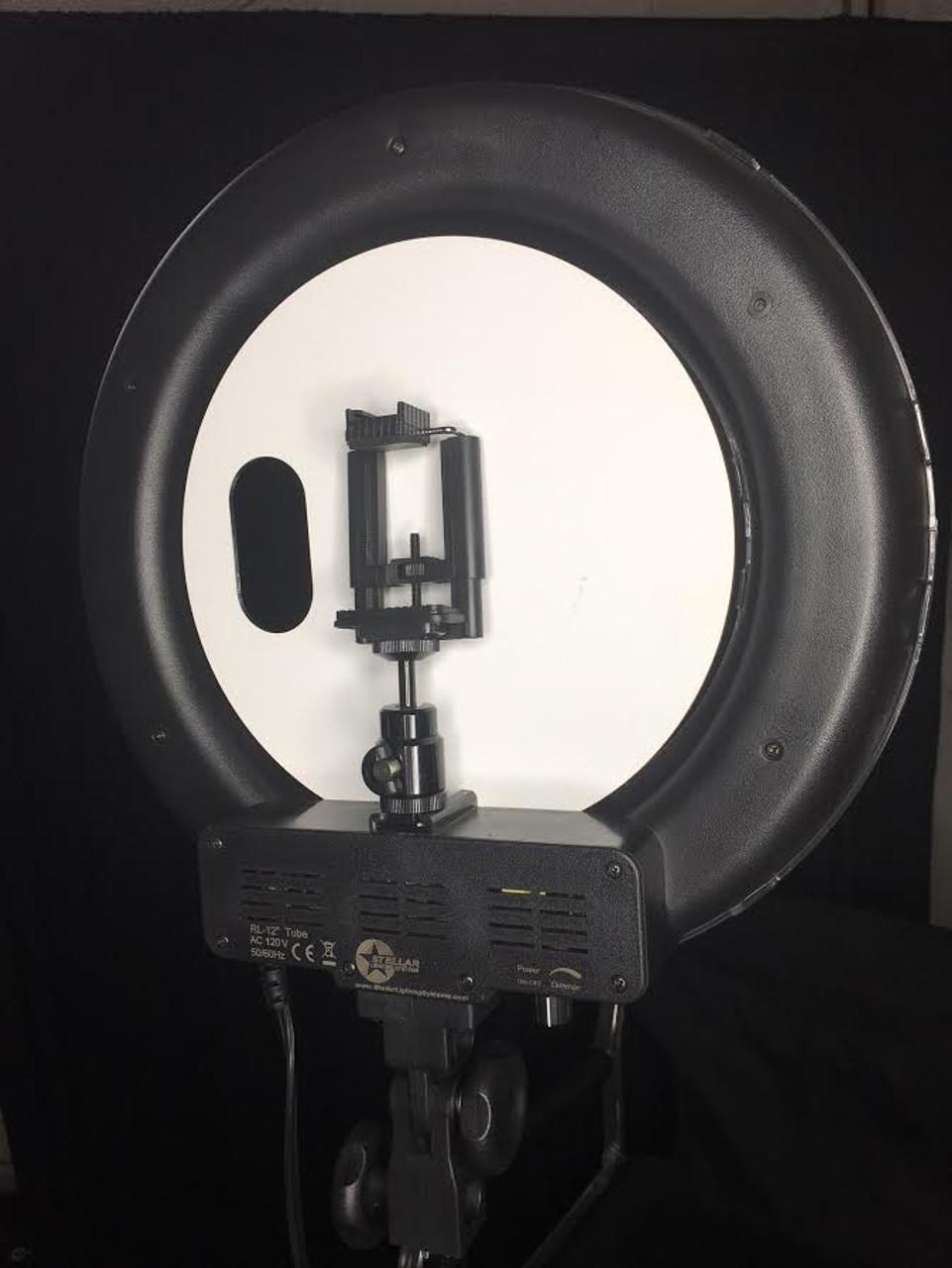 "Stellar Mini  Diva Ring Light 12"" + Stellar Photo Stand"