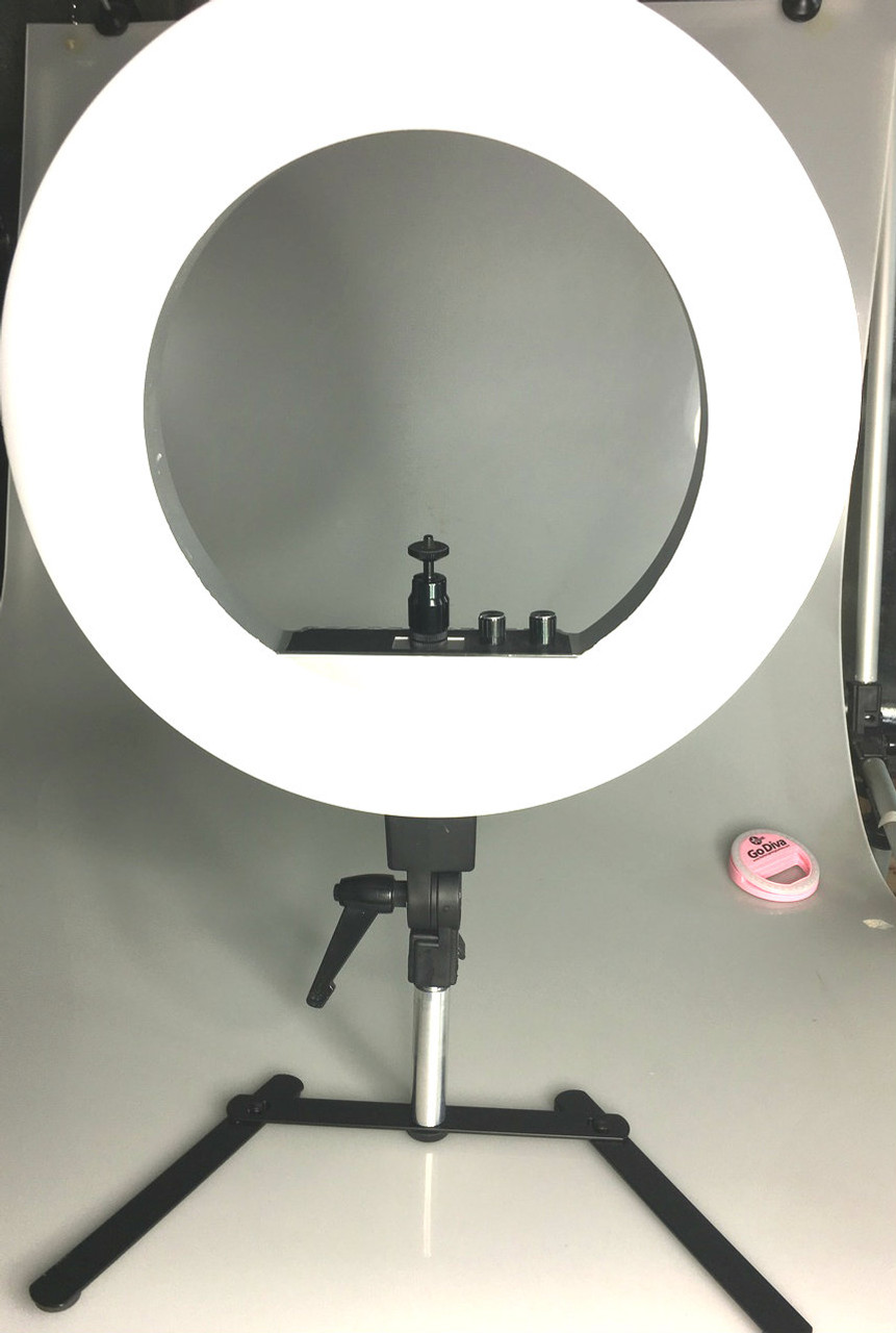 Ring Light not included