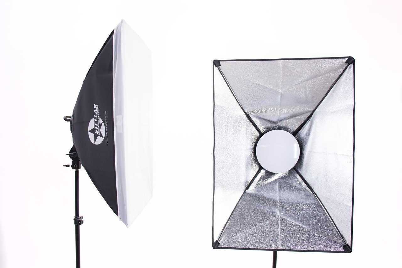Stellar  Gemini Dual Purpose Led Soft Boxes