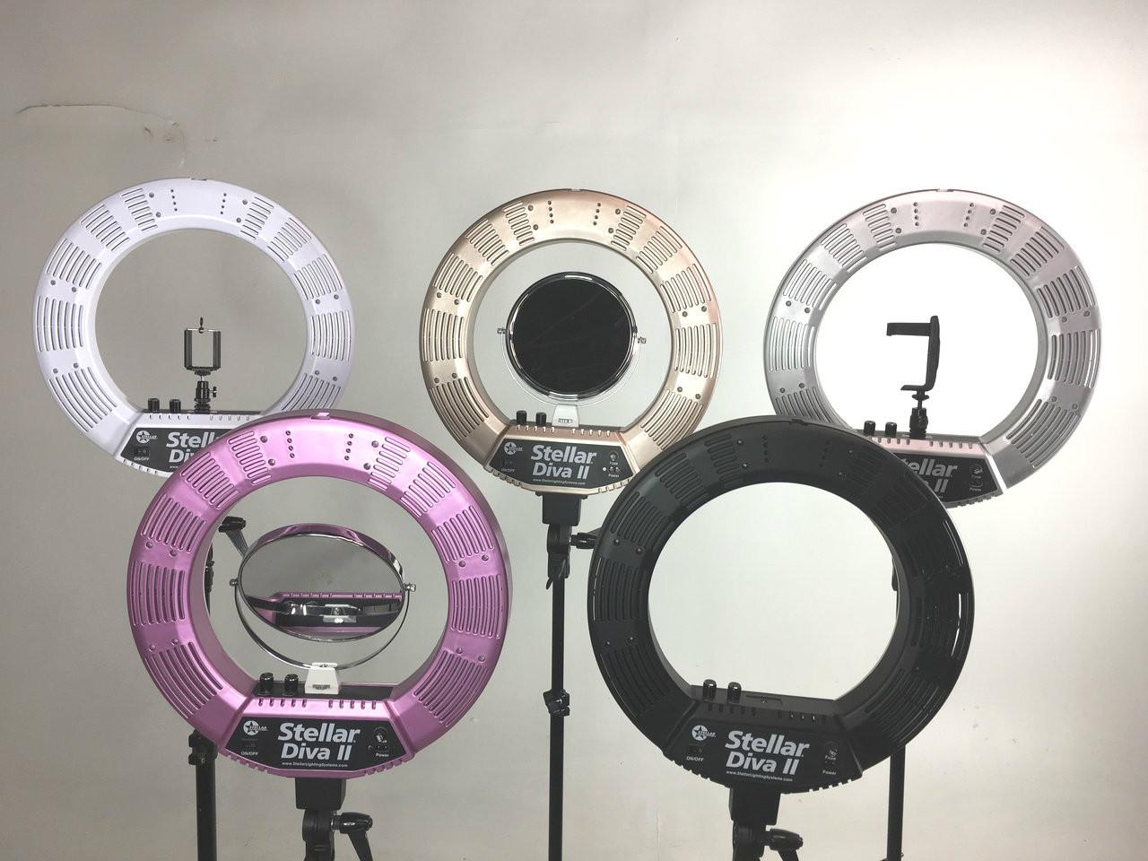 LED Diva Ring light by Stellar Lighting Systems