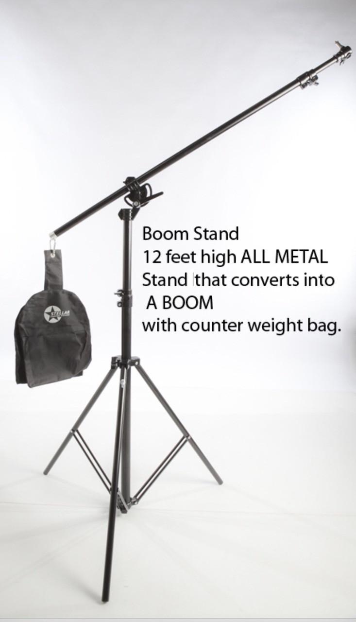 LED Diva Ring light  + Boom Stand