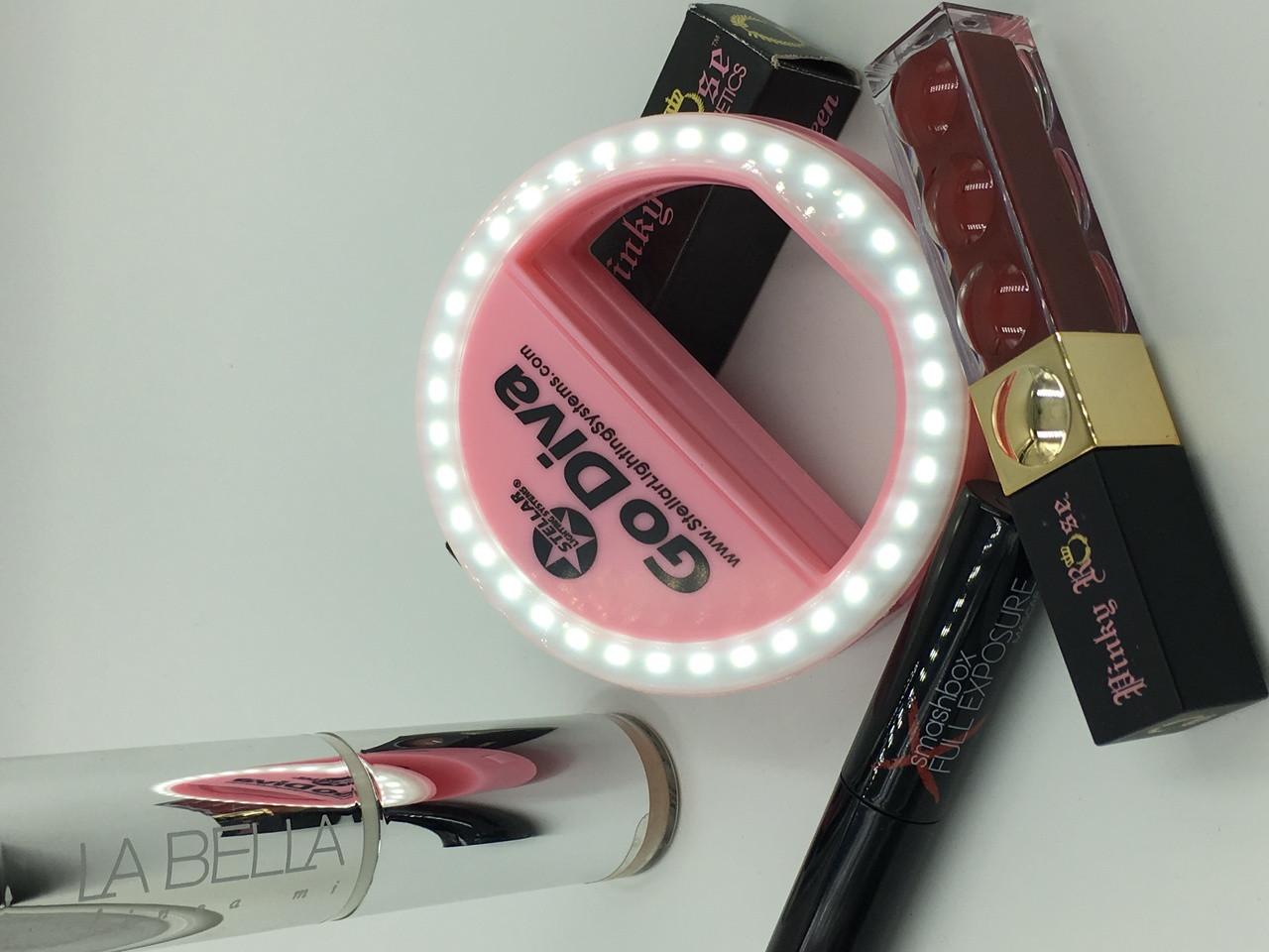 makeup selfie ring light