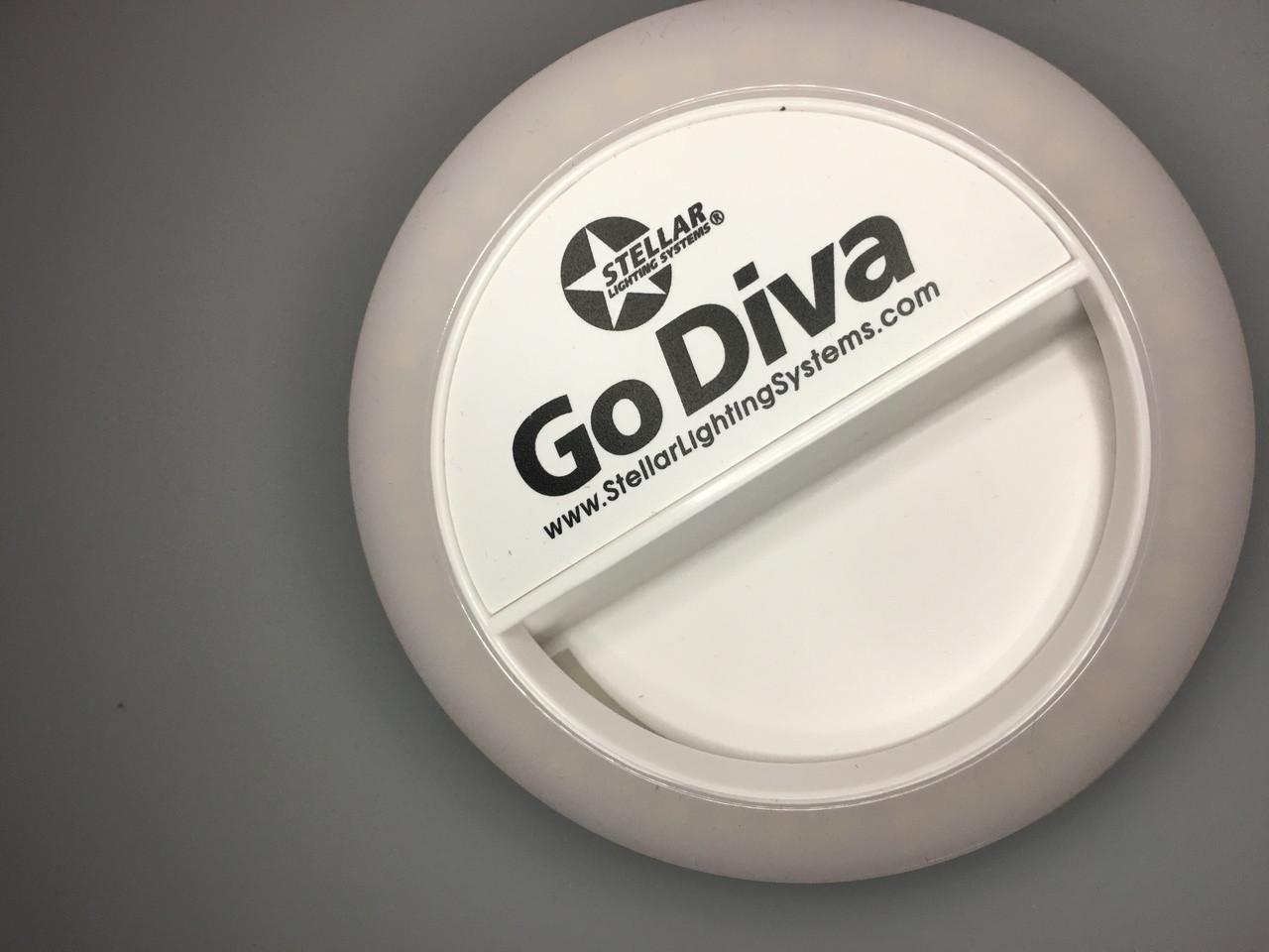 Go Diva Selfie Ring Light  Bi Color by Stellar Lighting Systems