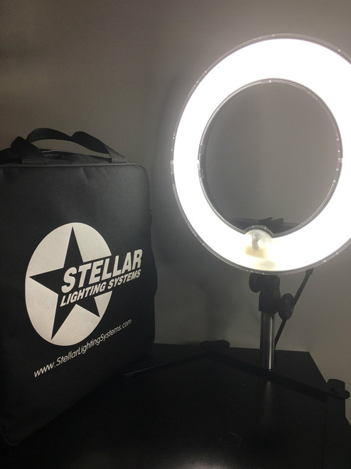 "Stellar Mini  Diva  Ring Light 12"" + Table Top Stand"