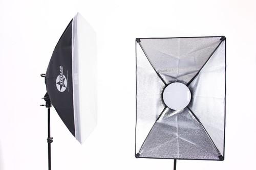 Stellar  Gemini Dual Purpose Led Soft Boxes