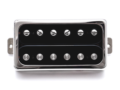 "A balanced premium Humbucker with an even frequency band and a classic voicing.  Developed and fine-tuned for years - Now a benchmark for a classic und raw humbucker tone. The ""Grand Vintage"" is used in many of our guitars. It became famous and celebrated under the hands of many world class acts as a tone master in the bridge position of our Starplayer TV model. It has its roots in the classic PAF type pickups but ups the game with an open German Silver cover for unrestricted treble response. We also added special high-quality components for the baseplate and coil wire - we think you're going to love it! 4 conductor wire Pickup frame not included"