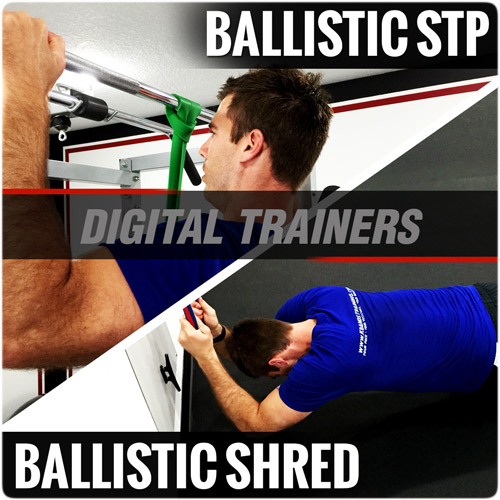 Ballistic Bands STP and Shred Digital Trainers