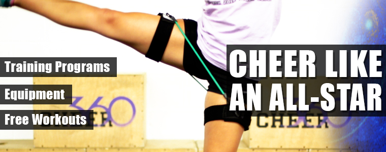 Improve Cheerleading and Gymnastic Skill With Kbands Training