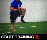 Progressive Sprinting Drill