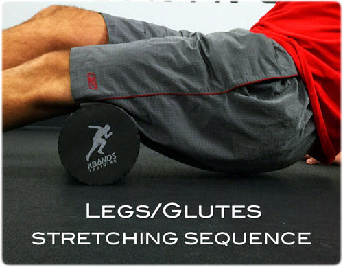 Legs and Glutes Stretching Sequence