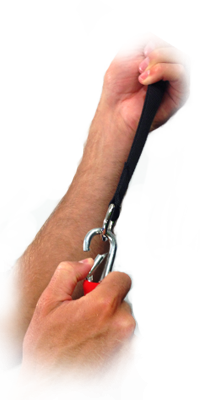 Reactive Stretch Cord Anchor Clip