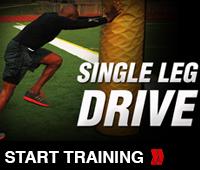 Single Leg Drive Track Drill
