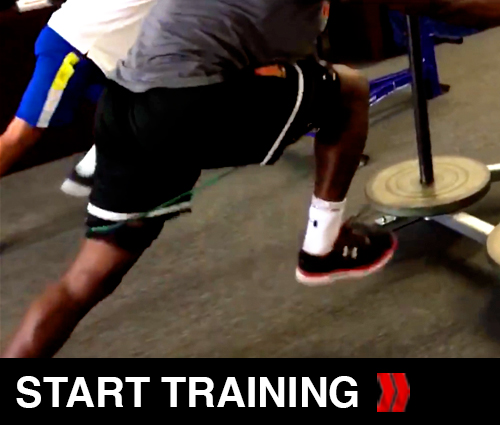 Sled Drills For football Players