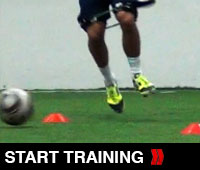 Touch and Go Soccer Speed Drill