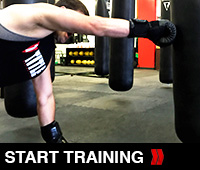 Heavy Bag Power Punches