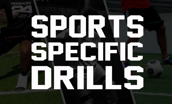 Train Sport Specific Drills