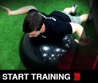 Stability Ball Static Holds