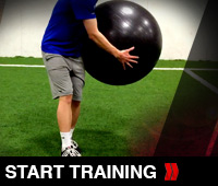 Stability Ball Throws