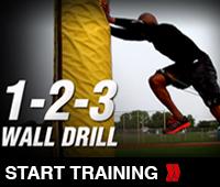1-2-3 Wall Drill